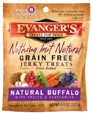 Evanger's Grain Free Buffalo with Fruits and Veggies Dog Treats