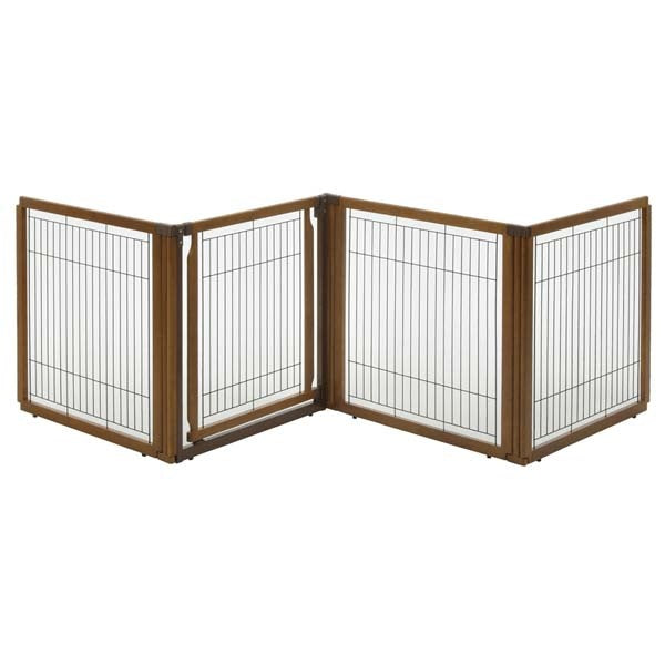 Richell Convertible Elite Pet Gate 4-Panel