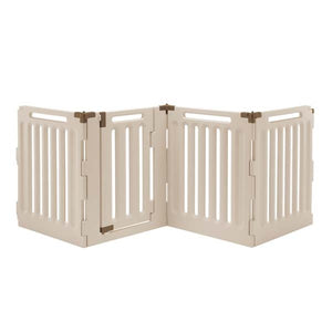 Richell Convertible Indoor/Outdoor Pet Playpen 4 Panel