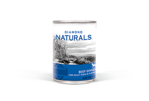 Diamond Naturals Beef Dinner All Life Stages Canned Dog Food