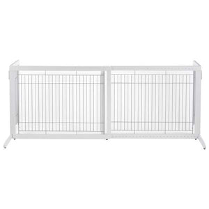 Richell Free Standing White Pet Gate HL