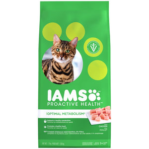 Iams ProActive Health Optimal Metabolism Dry Cat Food
