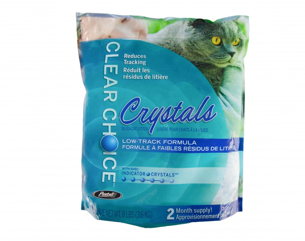 Pestell Clear Choice Silica Crystals Alternative Cat Litter