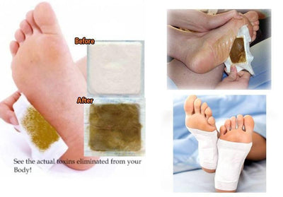 Kinoki Cleansing Detox Foot Pads- 30Pcs