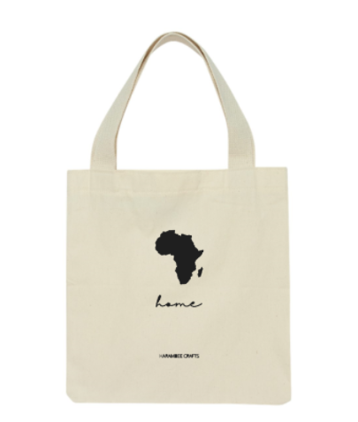 Africa Canvas Tote Bag