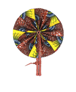 Earth, Wind and Fire Folding Hand Fan - Harambee Crafts