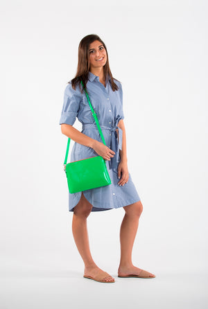 Ravello Bag in Green - MIA FREEDMAN's FAVOURITE
