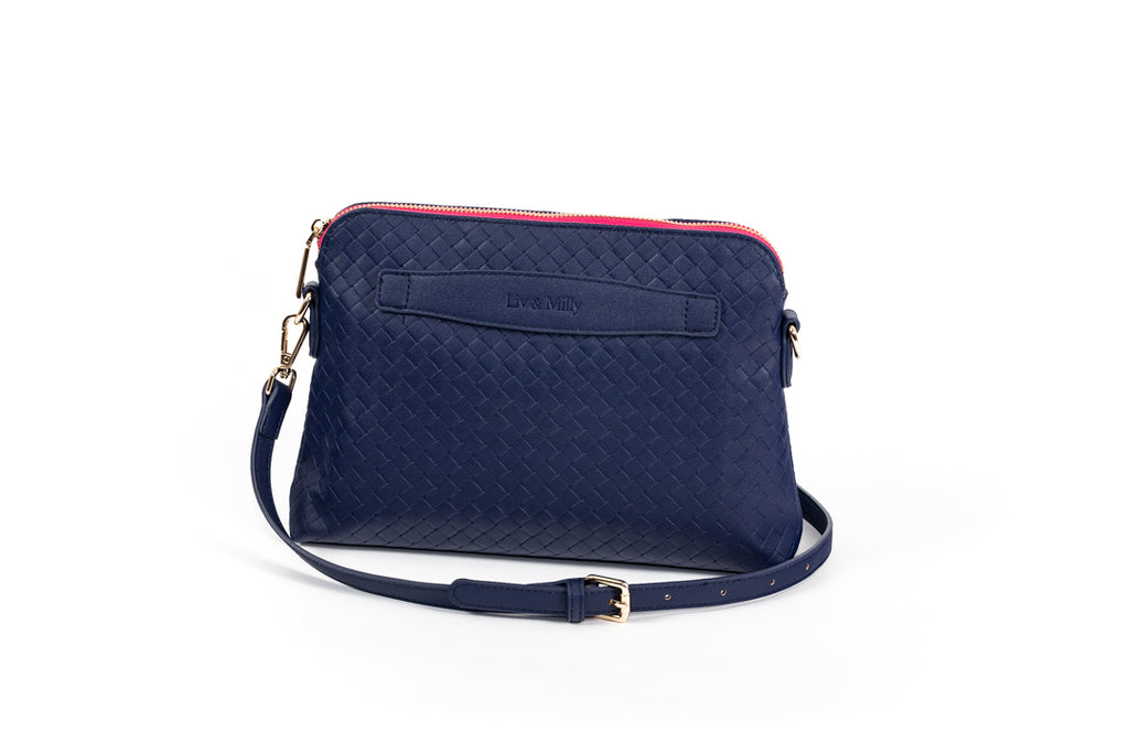 Lucille Cross Body Bag in Navy