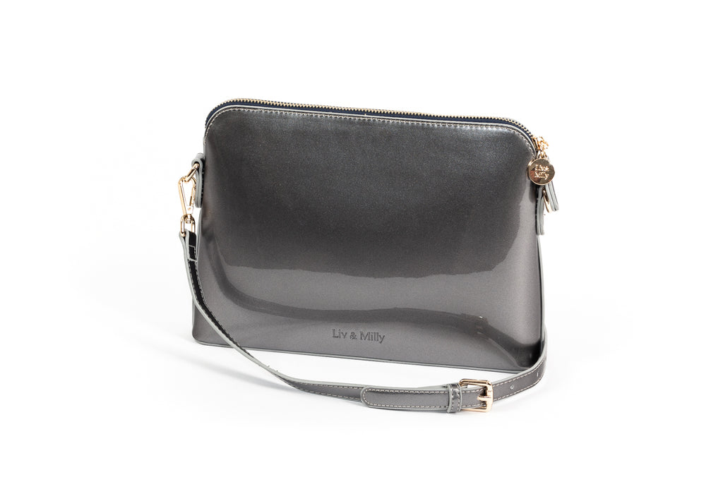 Ravello Bag in Gun Metal Grey