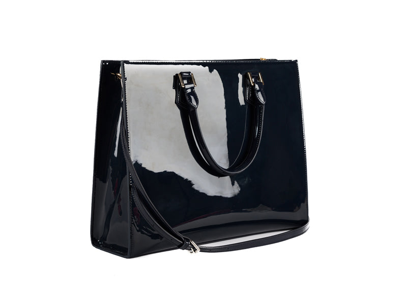 Navy Milan Bag