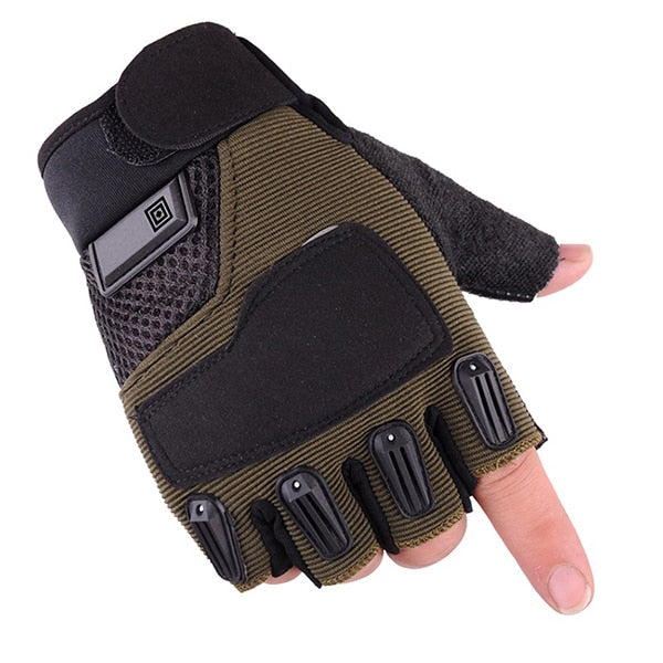 Gloves Half Finger Military Army