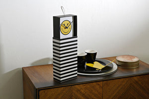 Smiley Clock in a Box, Wanduhr, Dekouhr stehend