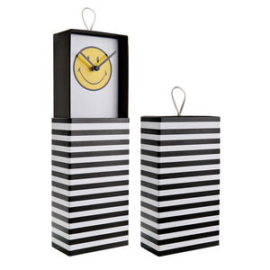 Smiley - Clock in a Box, Wanduhr, Dekouhr stehend
