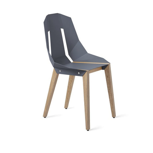 stuhl chair diago, Tabanda, blau-grau
