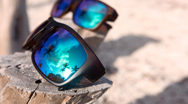 Our Coastal Green Mirrored Lens - See More, Catch More