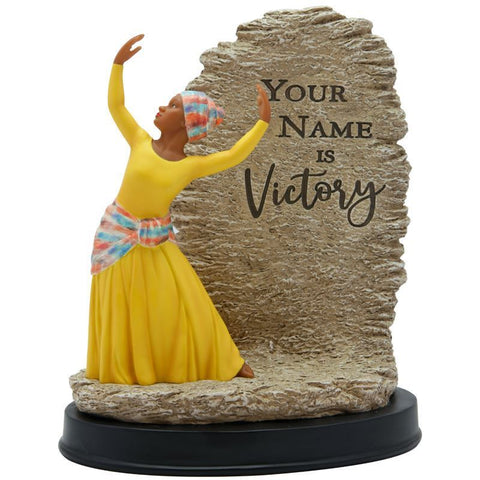 YOUR NAME IS VICTORY FIGURINE