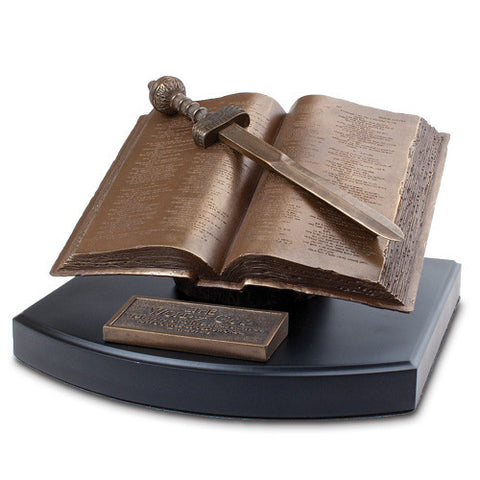 Word of God Sculpture