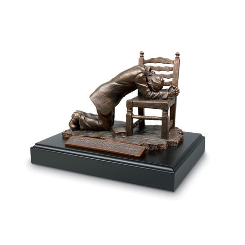 Praying Man Sculpture - Spanish