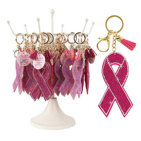 PRETTY IN PINK DAZZLER KEYCHAIN