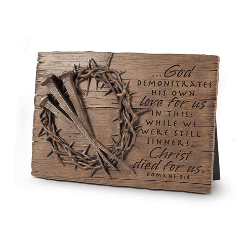 Crown Of Thorns Desk Plaque