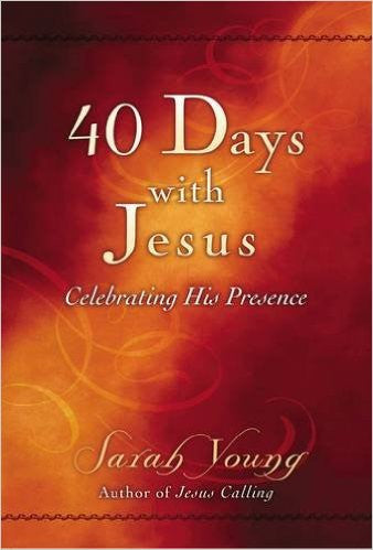 40 DAYS WITH JESUS BOOKLET by Sarah Young