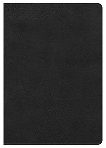 KJV SUPER GIANT PRINT REFERENCE BIBLE BLACK BONDED LEATHER