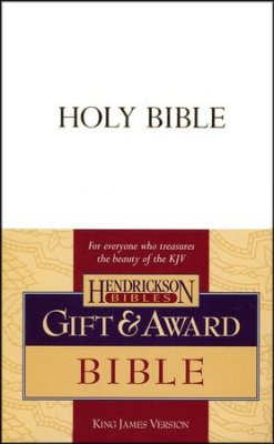 GIFT & AWARD BIBLE KJV WHITE LL