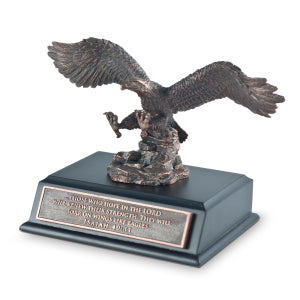 Sculpture- Moments Of Faith: Soaring Eagle SM