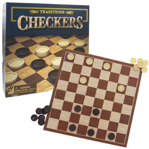 Traditions Checkers Game