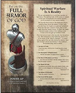 FULL ARMOR OF GOD WALL PLAQUE  8X10
