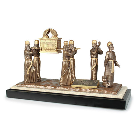 SCULPTURE  ARK OF THE COVENANT WITH LEVITES LARGE