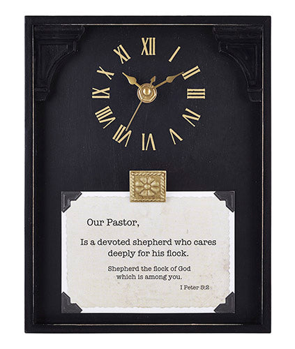 FRAMED TABLETOP CLOCK