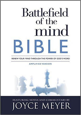 BATTLEFIELD OF THE MIND AMPLIFIED VERSION BIBLE HC