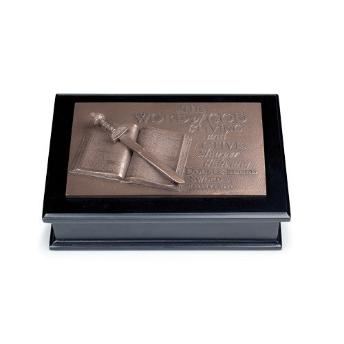 WORD OF GOD SCULPTURE BOX