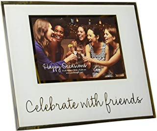 CELEBRATE WITH FRIENDS GLASS FRAME