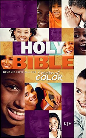 CHILDREN OF COLOR HOLY BIBLE KJV HC