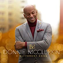 DONNIE MCCLURKIN- A DIFFERENT SONG GOSPEL CD