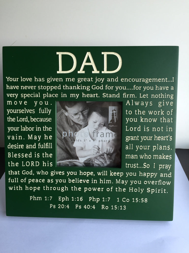 Dad Frame in Green