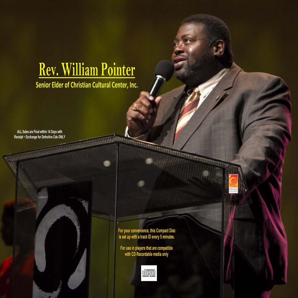 WILLIAM POINTER CD-MAY 5, 2019 10:30am