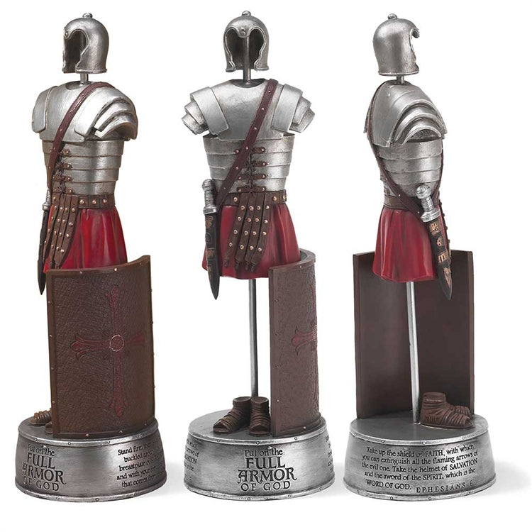 FULL ARMOR OF GOD STATUE 15