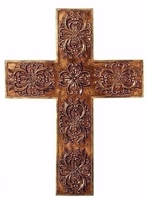 WALL CROSS GOLD-LEAFED  17