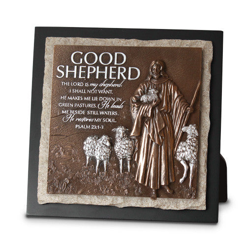 Good Shepherd Sculpture Plaques