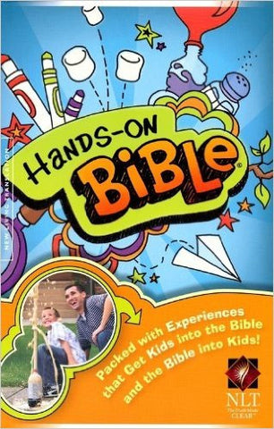 NLT HANDS ON BIBLE SC