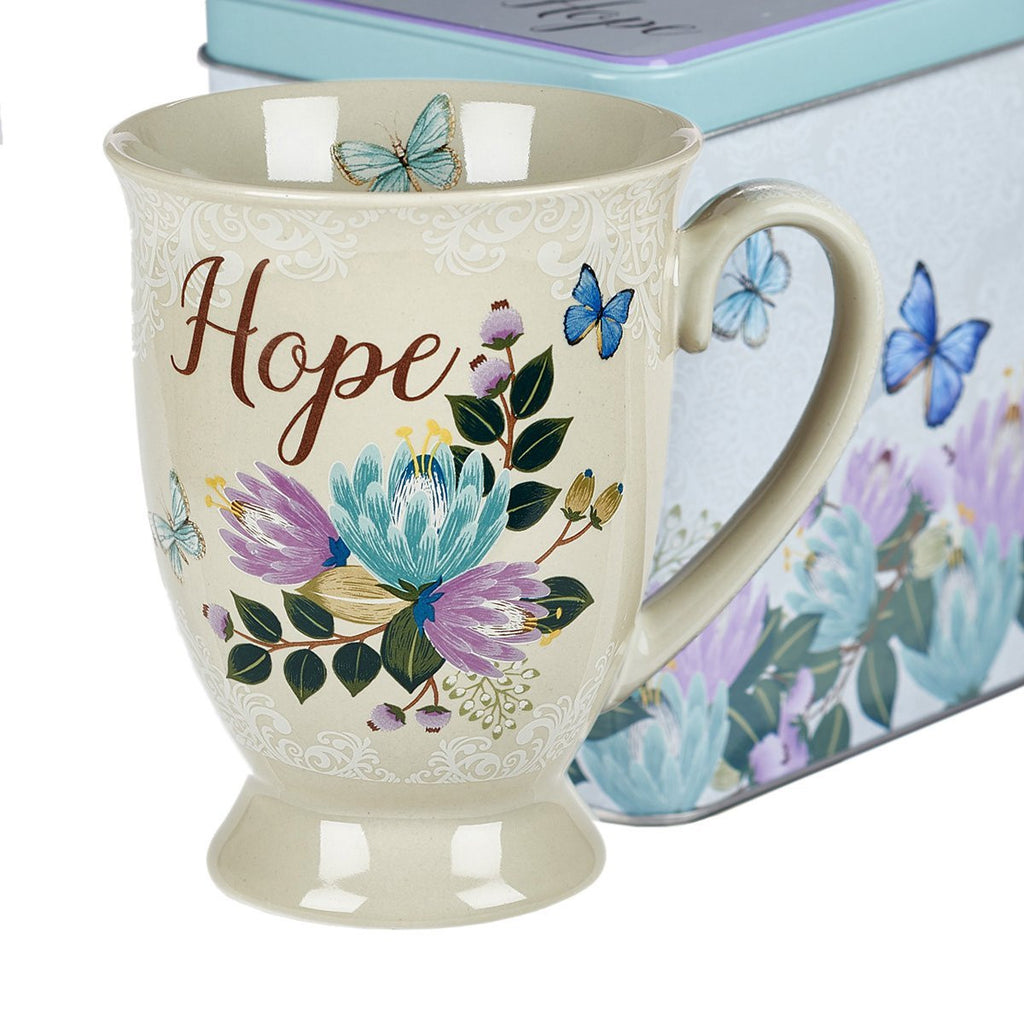 MUGS IN A CAN BELIEVE, HOPE, PEACE