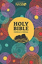 NASB CHILDREN'S HOLY BIBLE HARD COVER AGES 7-13 YRS