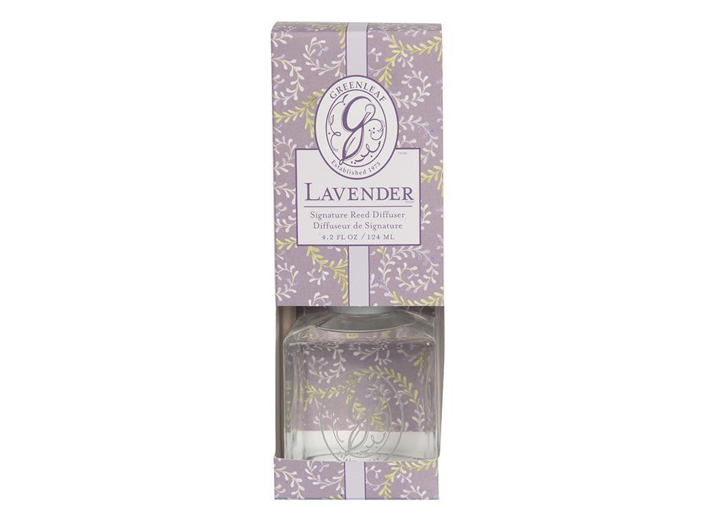 GREENLEAF LAVENDAR SIGNATURE REED DIFFUSER NEW