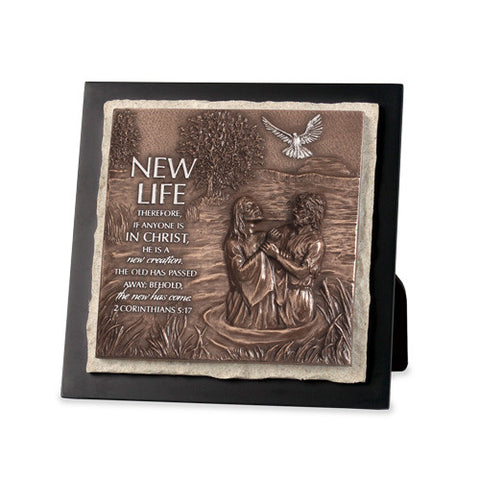 New Life Sculpture Plaque