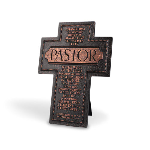 PASTOR STAND FIRM
