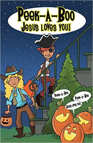 TRACT PEAK A BOO JESUS LOVES YOU (PACK OF 25)