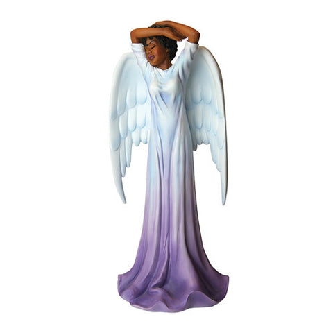 DIVA ANGEL PURPLE FIGURINE